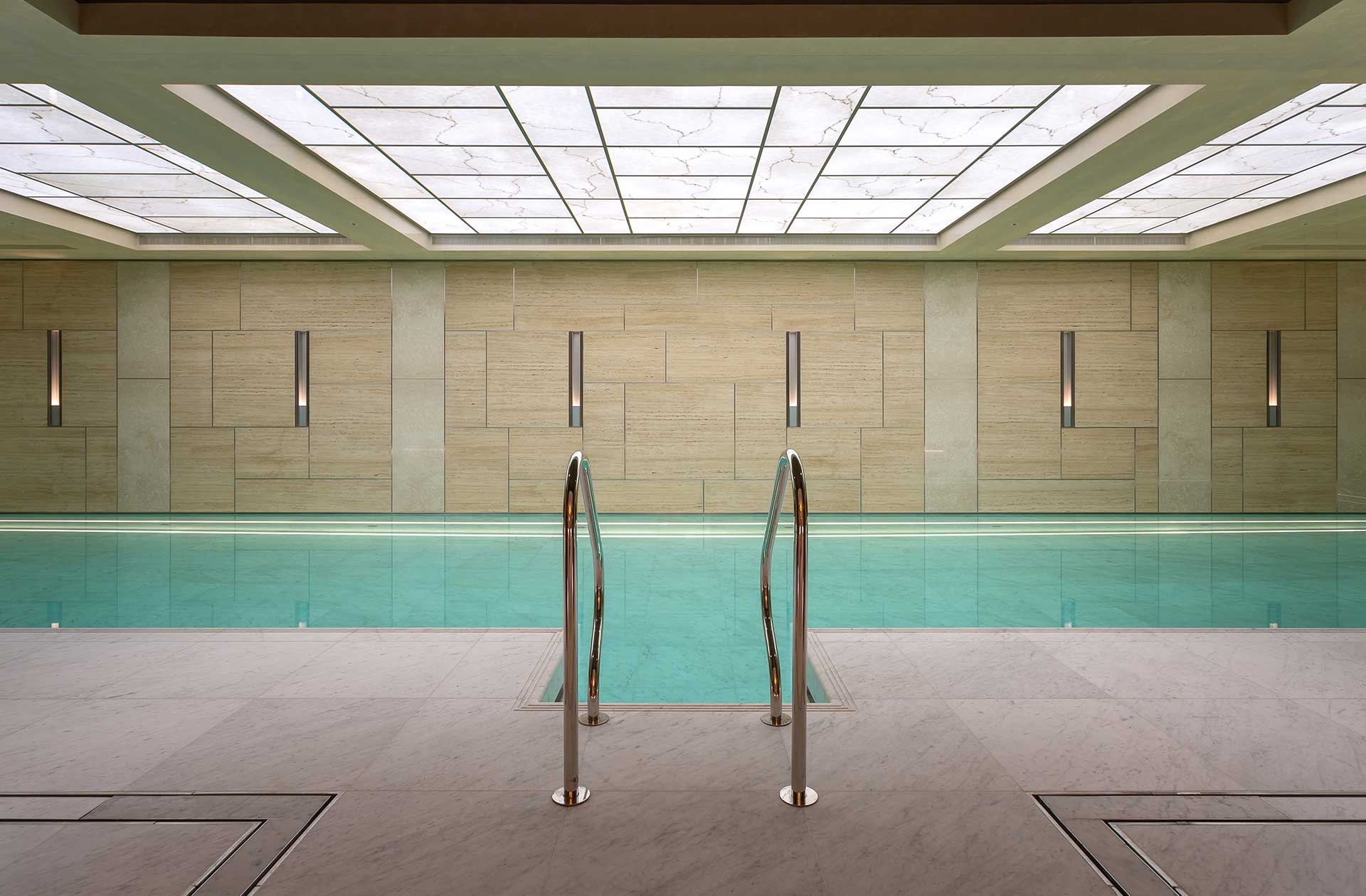 amberlite swimming pool ceiling